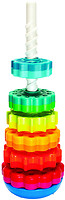 Fat Brain Toys Винтовая пирамидка Spin Again (FA110-1)
