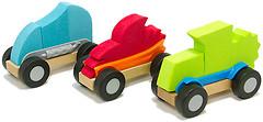 Фото Fat Brain Toys Автомобильчики ModMobiles Set B (FA108-2)