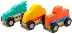 Фото Fat Brain Toys Автомобильчики ModMobiles Set A (FA108-1)