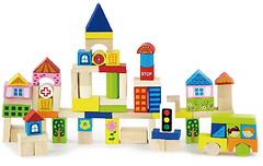 Viga Toys Город 75 блоков (50287)