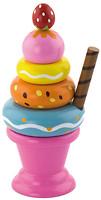 Фото Viga Toys Мороженое с клубничкой (51321)