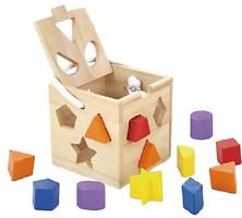Фото Viga Toys Куб с геометрическими фигурами (53659)