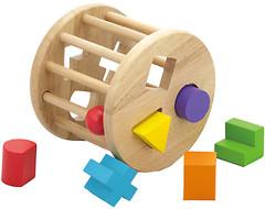 Фото Viga Toys Круг с геометрическими фигурами (54123)