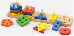 Фото Viga Toys Геометрические фигуры (58558)