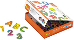 Viga Toys Магнитные буквы и цифры (59429)