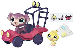 Фото Hasbro Littlest Pet Shop City Rides Багги (B3807_B7757)