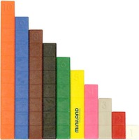 Фото Miniland Кубики Увлекательная математика (95064)