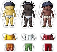 Фото Miniland Шнуровка Дети всего мира (36061)