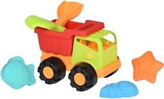 Фото Same Toy Набор песочный Грузовик зеленый 6 эл (988Ut-2)
