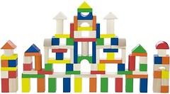 Фото Viga Toys Город 100 блоков (50334)