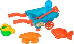 Same Toy Набор песочный голубой 6 эл (B015-But-2)