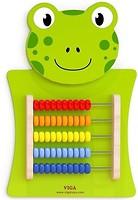 Фото Viga Toys Лягушка со счетами (50679)