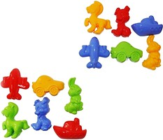 Фото Toys Набор для песка 6 эл в ассортименте (7101067)