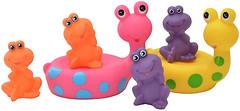 Фото Baby Team Набор игрушек для ванны Веселые друзья (9001)