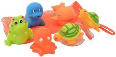 Фото Baby Team Набор игрушек для ванны Морские обитатели (9004)