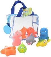 Фото Baby Team Набор игрушек для ванны Подводный мир (9005)