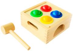 Мир деревянных игрушек Стучалка Шарики (Д027)