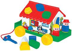 Полесье Игровой дом в сеточке (6202)