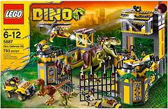 LEGO Dino Штаб-квартира защиты от динозавров (5887)