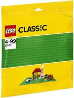Фото LEGO Classic Строительная пластина зеленого цвета (10700)