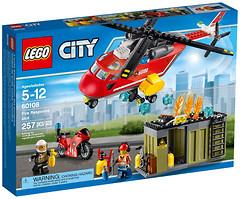 Фото LEGO City Пожарная команда (60108)