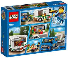 LEGO City Фургон и дом на колесах (60117)
