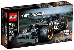 LEGO Technic Гоночный автомобиль для побега (42046)