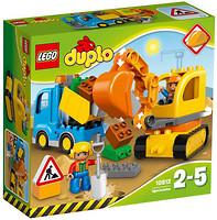 LEGO Duplo Грузовик и гусеничный экскаватор (10812)