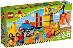 Фото LEGO Duplo Большая стройплощадка (10813)