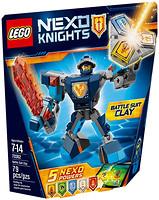 LEGO Nexo Knights Боевые доспехи Клэя (70362)