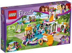Фото LEGO Friends Летний бассейн (41313)