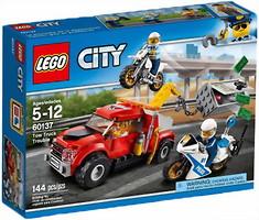 Фото LEGO City Побег на буксировщике (60137)