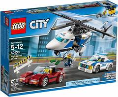 Фото LEGO City Стремительная погоня (60138)