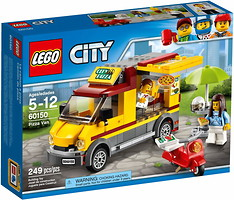 Фото LEGO City Фургон-пиццерия (60150)