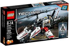 Фото LEGO Technic Сверхлегкий вертолет (42057)