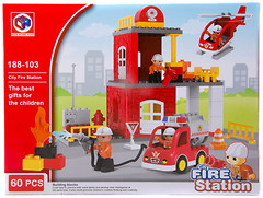 Kids Home Toys Fire Station (188-103)