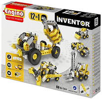 Фото Engino Inventor Строительная техника 12 моделей (1234)