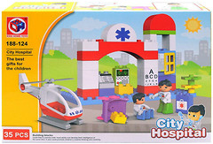 Kids Home Toys City hospital (188-124)