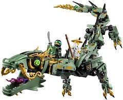 Фото LEGO Ninjago Механический Дракон Зеленого Ниндзя (70612)
