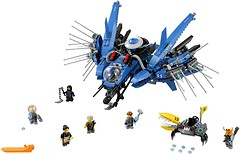 Фото LEGO Ninjago Самолет-молния Джея (70614)