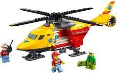 Фото LEGO City Вертолет скорой помощи (60179)