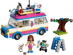 Фото LEGO Friends Передвижная научная лаборатория Оливии (41333)