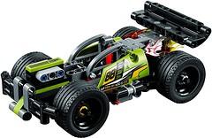 Фото LEGO Technic Зеленый гоночный автомобиль (42072)