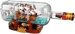 Фото LEGO Ideas Корабль в бутылке (21313)