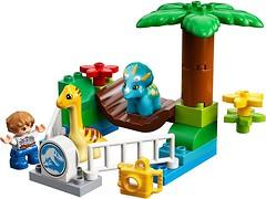 Фото LEGO Duplo Парк динозавров (10879)