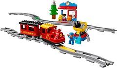 Фото LEGO Duplo Поезд на паровой тяге (10874)