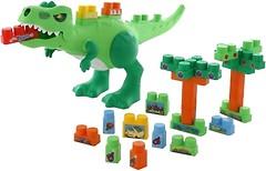 Фото Полесье Molto Динозавр с конструктором 30 элементов (67807)