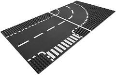 Фото LEGO City Т-образный перекресток (7281)