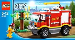Фото LEGO City Пожарный внедорожник 4х4 (4208)