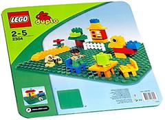 LEGO Duplo Большая строительная пластина (2304)